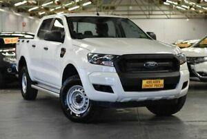 2016 Ford Ranger PX MkII XL Hi-Rider White 6 Speed Sports Automatic Utility Morphett Vale Morphett Vale Area Preview
