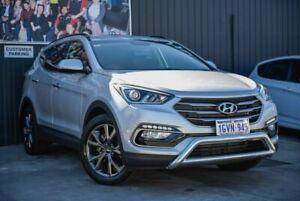 2017 Hyundai Santa Fe DM5 MY18 Active X 2WD Silver 6 Speed Sports Automatic Wagon