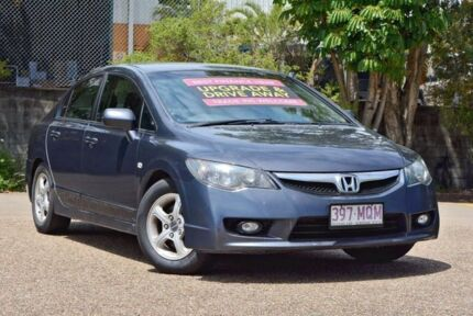 2009 Honda Civic 8th Gen MY09 VTi Grey 5 Speed Manual Sedan