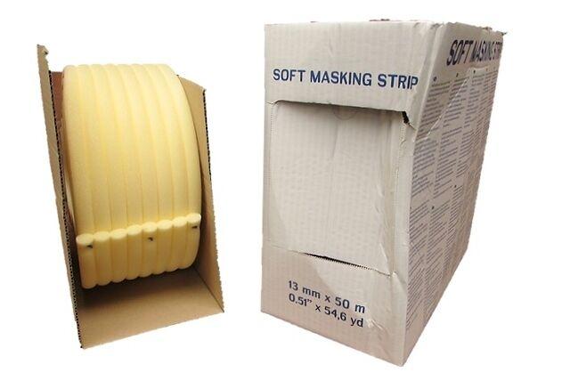 Soft Edge Foam Masking Tape 13 Mm X 54 Yards Aperture Tape Door Jamb Tape Ebay