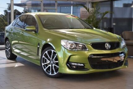 2015 Holden Commodore VF MY15 SS-V Jungle Green 6 Speed Manual Sedan Belconnen Belconnen Area Preview