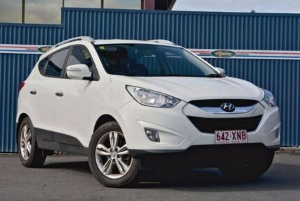 2010 Hyundai ix35 LM NULL Elite AWD White 6 Speed Sports Automatic Wagon
