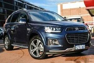 2018 Holden Captiva CG MY18 LTZ AWD Blue 6 Speed Sports Automatic Wagon Fremantle Fremantle Area Preview