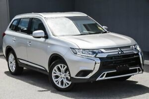 2020 Mitsubishi Outlander ZL MY20 ES AWD Silver 6 Speed Constant Variable Wagon Osborne Park Stirling Area Preview
