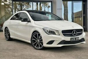 2015 Mercedes-Benz CLA200 C117 806MY DCT White 7 Speed Sports Automatic Dual Clutch Coupe Berwick Casey Area Preview