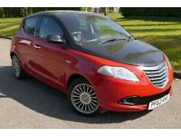 CHRYSLEY YPSILON 1.2 2013 RED & BLACK