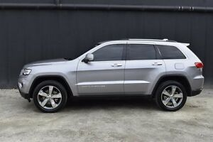2015 Jeep Grand Cherokee WK MY15 Limited Silver 8 Speed Sports Automatic Wagon Berwick Casey Area Preview