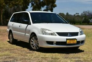 2008 Mitsubishi Lancer CH MY07 ES White 4 Speed Sports Automatic Wagon Enfield Port Adelaide Area Preview