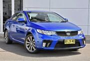 2012 Kia Cerato TD MY12 Koup SI Blue 6 Speed Sports Automatic Coupe Tweed Heads South Tweed Heads Area Preview