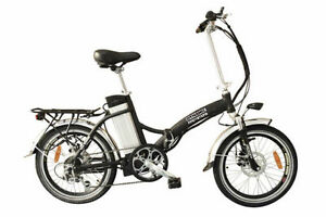 FOLDING ELECTRIC BIKE - ALUMINUM FRAME - DISC BRAKES