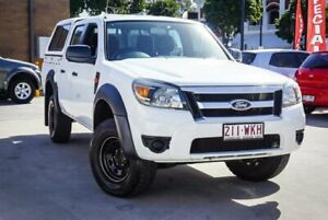 2010 Ford Ranger PK XL Hi-Rider (4x2) White 5 Speed Automatic Dual Cab Chassis Ipswich Ipswich City Preview