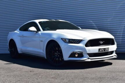 2017 Ford Mustang FM MY17 GT Fastback SelectShift White 6 Speed Sports Automatic Fastback