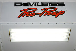 DeVilbiss Prep & Paint Booths (4 booths)