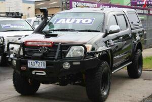 2007 Toyota Hilux KUN26R MY07 SR5 Black 4 Speed Automatic Utility