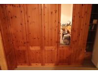 Pine Bedroom Furniture - large selection of wardrobes and drawers etc