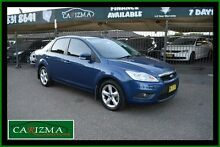 2009 Ford Focus LV LX Blue 4 Speed Automatic Sedan Toongabbie Parramatta Area Preview
