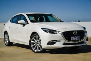 2018 Mazda 3 BN5438 SP25 SKYACTIV-Drive GT White 6 Speed Sports Automatic Hatchback
