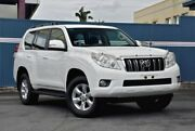 2011 Toyota Landcruiser Prado KDJ150R GXL White 5 Speed Sports Automatic Wagon Tweed Heads Tweed Heads Area Preview