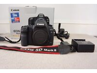 Very good condition Canon 5D mark II, body only