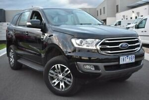 2018 Ford Everest UA II 2019.00MY Trend RWD Black 10 Speed Sports Automatic Wagon Epping Whittlesea Area Preview