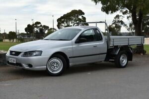 2007 Ford Falcon BF Mk II XL Super Cab Silver 4 Speed Sports Automatic Cab Chassis Brighton Holdfast Bay Preview