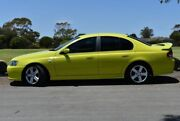 2003 Ford Falcon BA XR6 Turbo Green 4 Speed Sports Automatic Sedan Brighton Holdfast Bay Preview
