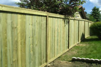 Winter fence/deck special - Availability this week.