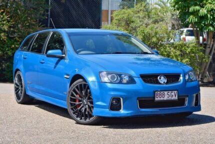2012 Holden Commodore VE II MY12 SS V Sportwagon Redline Blue 6 Speed Sports Automatic Wagon