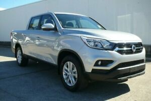 2019 Ssangyong Musso Q200 MY19 Ultimate Fine Silver 6 Speed Automatic Dual Cab Utility Hendra Brisbane North East Preview