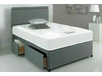 ⭐🆕FLASH SALES SINGLE/DOUBLE/KINGSIZE DIVAN BED BASES ON SALE, CHOICE OF MATTRESSES AVAILABLE NOW!