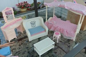 Barbies, barbie clothes and barbie furniture!