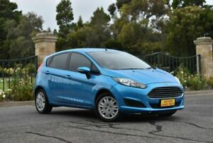 2014 Ford Fiesta WZ Ambiente PwrShift Blue 6 Speed Sports Automatic Dual Clutch Hatchback Enfield Port Adelaide Area Preview