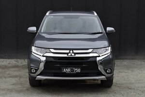 2016 Mitsubishi Outlander ZK MY16 LS 4WD Grey 6 Speed Constant Variable Wagon Berwick Casey Area Preview