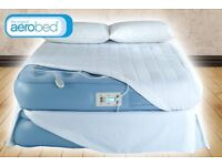 Areobed platinum raised double with support zones double air bed (broken pump)