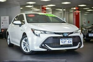 2018 Toyota Corolla ZWE211R SX E-CVT Hybrid White 10 Speed Constant Variable Hatchback Hybrid Bellevue Swan Area Preview