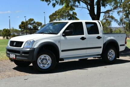 2006 Holden Rodeo RA MY06 LX Crew Cab 4x2 White 4 Speed Automatic Utility Brighton Holdfast Bay Preview