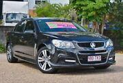 2013 Holden Commodore VF MY14 SV6 Black 6 Speed Manual Sedan Underwood Logan Area Preview