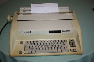 Olympia Compact Electric Typewriter $50.00