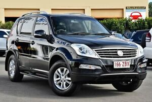 2014 Ssangyong Rexton Y285 II MY14 SX Black 5 Speed Sports Automatic Wagon Chinderah Tweed Heads Area Preview