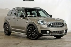 2018 Mini Countryman F60 Cooper S E Steptronic ALL4 Silver 6 Speed Sports Automatic Wagon Hybrid Darlinghurst Inner Sydney Preview