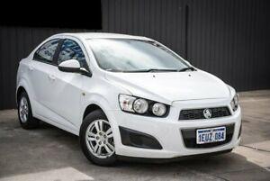 2015 Holden Barina TM MY15 CD White 6 Speed Automatic Sedan Midvale Mundaring Area Preview