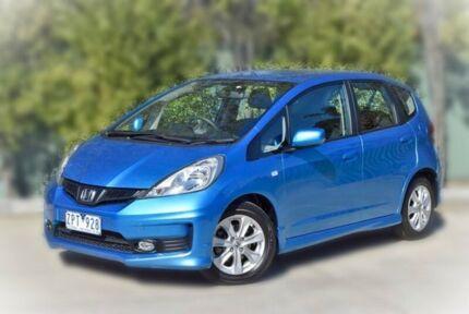2013 Honda Jazz GE MY13 VTi Blue 5 Speed Automatic Hatchback