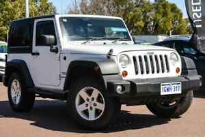 2012 Jeep Wrangler JK MY2012 Sport White 5 Speed Automatic Softtop