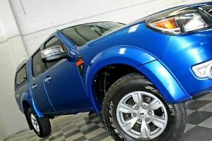 2010 Ford Ranger PK XLT Blue 4 Speed Automatic Dual Cab Burleigh Heads Gold Coast South Preview