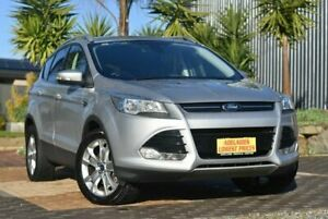 2014 Ford Kuga TF Trend PwrShift AWD Silver 6 Speed Sports Automatic Dual Clutch Wagon Morphett Vale Morphett Vale Area Preview