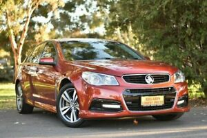 2015 Holden Commodore VF MY15 SV6 Orange 6 Speed Sports Automatic Sedan Melrose Park Mitcham Area Preview