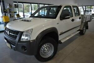 2007 Holden Rodeo RA MY08 LX Crew Cab White 5 Speed Manual Cab Chassis Port Macquarie Port Macquarie City Preview