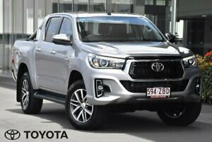 2019 Toyota Hilux GUN126R SR5 Silver Sports Automatic Indooroopilly Brisbane South West Preview