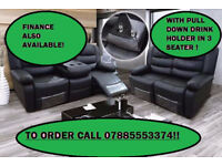 sofa recliner 2 plus 3 leather