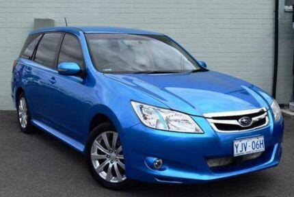 2009 Subaru Liberty MY10 Exiga Premium Blue Continuous Variable Wagon